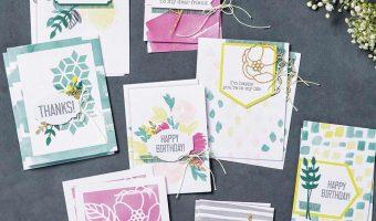Soft Sayings Card kit