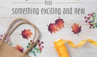 August Paper Pumpkin Gift of Fall